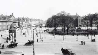 Sådan så Kongens Nytorv ud tilbage i 1917.