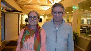 Pia og Richard Schmeltz fik i 2014 besked om, at deres datter var politianmeldt.