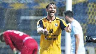 Hobros Pål Alexander Kirkevold har scoret 21 mål i sæsonen.