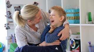 Helle Emgren har passet 7-årige Valdemar fra fødslen.