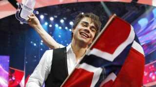 Med 387 point satte Alexander Rybak i 2009 rekord i det daværende pointsystem, da han sikrede Norge landets tredje Eurovision-sejr med 'Fairytale'.