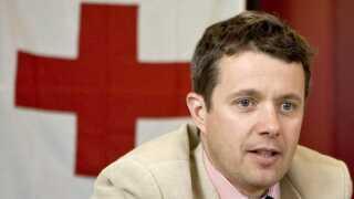 H.K.H. Kronprins Frederik har været kommitteret for Dansk Røde Kors siden 2012.