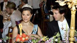 Den svenske kronprinsesse Victoria skal feste for kronprins Frederik i aften sammen med kongelige fra hele Europa. (billede fra 2007)