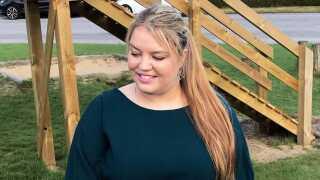 23-årige Julie Kirstine Frederiksen.