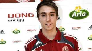 Året efter sin debut på U17-landsholdet vandt Christian Eriksen Arlas Talentpris for U17-spillere.