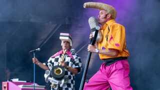Toonie og Sponge stod for sikre vokaler, så publikum kunne genopleve magien fra dengang, Cartoons sidst rejste rundt og optrådte.