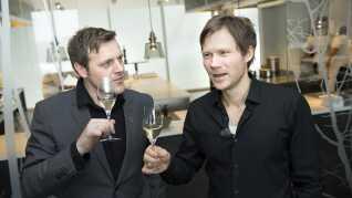 Rasmus Kofoed (th.) og Søren Ledet kan igen i år sige, at de står i spidsen for verdens 19. bedste restaurant.