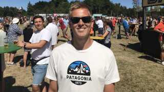 Andreas Kaspersen er glad for det nye pantsystem.