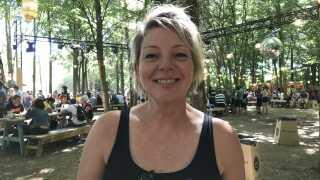 Hanne Christensen er glad for at støtte de lokale initiativer i Odense, og nyder festivalen med familie og venner. Nogle af hendes største oplevelser var Mads Langer, Carpark North og Depeche Mode.