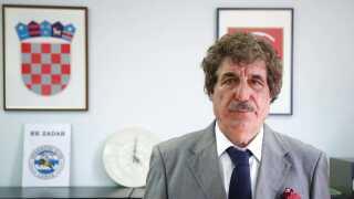 Josip Bajlo, formanden for NK Zadar.