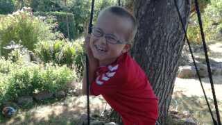 Hasse Christensens søn er i dag syv år gammel.