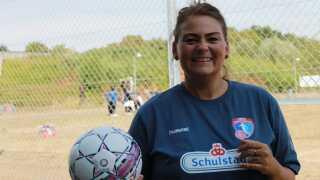 Idrætten kan gøre noget særligt omkring de udsatte grupper, fortæller Maria Brumvig, som er projektkoordinator hos Get2Sport i Odense.