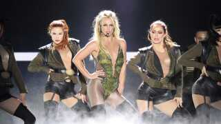 Britney Spears havde fra 2013-2017 et såkaldt 'residency' i Las Vegas. Nu er hun på verdensturné med selvsamme show.
