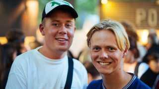 Både Christian Weller og Jonas Dybdahl var enige om, at det kunne være fedt med endnu flere gæster.