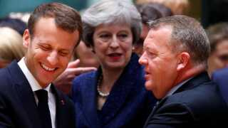 Når præsident Macron under statsbesøget skal mødes med statsminister Lars Løkke Rasmussen (V), vil det blandt andet være forholdet til EU, der står på dagsordenen, vurderer DR's internationale korrespondent.