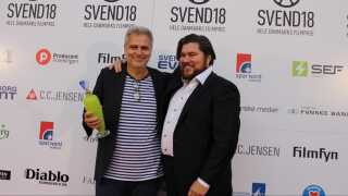 Aftenens helt store vindere blev Ole Bornedal og Rasmus Bjerg. De høste prisen som hhv. Årets danske film og bedste mandlige skuespiller for 'Så længe jeg lever'.