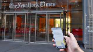 Det var avisen The New York Times, der i går bragte den anonyme kronik.