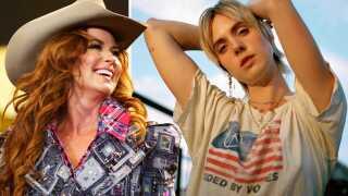 Country-dronningen Shania Twain (tv.) og popkometen Mø skal nok levere soundtracket til dit efterår.