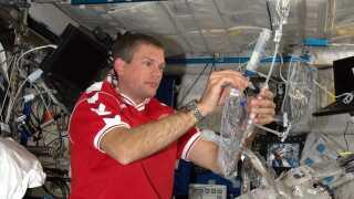 Den danske astronaut Andreas Mogensen testede et dansk vandfilter fra virksomheden, da han var i rummet.