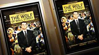 NEW YORK, NY - DECEMBER 18:  A view of atmosphere at the Academy of Motion Picture Arts and Sciences Official Academy Members screening of 'The Wolf Of Wall Street' at the Academy Theater at Lighthouse International on December 18, 2013 in New York City.