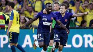 Bubacarr Sanneh nåede blot at spille i FC Midtjylland i en halv sæson, inden han røg videre til Anderlecht.
