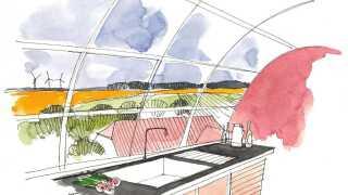 Der er blevet tegnet flere skitser til vindmølleprojektet. Skitserne er dog kun et eksempel på, hvordan vindmøllerne kan komme til at se ud. De endelige tegninger af de nye shelters er endnu ikke færdige.