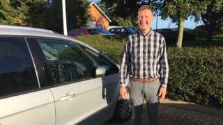 - På landevejen lægger man sig ind i køen og er der, indtil man lander i Herning, fortæller Niels Erik Madsen, der glæder sig til at erstatte landevej med motorvej.