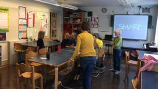 Christiansø Skolen har 15 elever, to klasselokaler og intet lærerværelse.