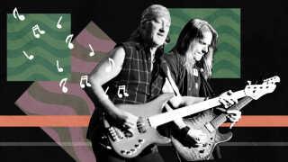 """Deep Purples sang """"Smoke on the water"""" indeholder gentagelser i form af et guitarriff, der, ifølge forskere, er typisk for en popsang."""