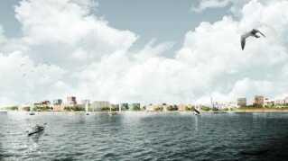 Lynetteholmen skal forbinde Nordhavn med Refshaleøen og på sigt vil give plads til knap 50.000 nye københavnere, heraf ca. 35.000 alene på Lynetteholmen.