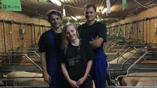 Porcovision er stiftet af Christian Moeslund, Christine Lundby og Christian Rasmussen.