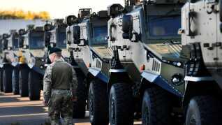 Britiske tropper er blandt deltagerne ved den store militærøvelse,
