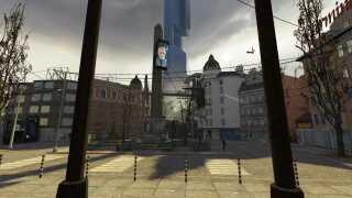 I 'Half-Life 2' var historien rykket ud af forskningsanlægget og ind i den fiktive by City 17.