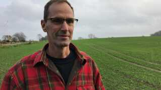 Hans Boesen mistede 20 procent af sine afgrøder under sommerens tørke.