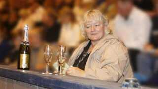 Britta Nielsen har drevet et stutteri. Her ses hun ved en auktion i 2007, hvor hun købte et føl til 175.000 kroner.
