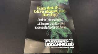 """Som en del af kampagnen vil Odense Kommune give """"skæve"""" facts om hash via de sociale medier."""