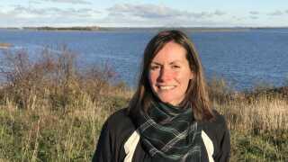 Joanna Fredenslund Levinsen er en af hovedpersonerne i projektet, som kan være med til at sikre Danmark bedre imod oversvømmelser.