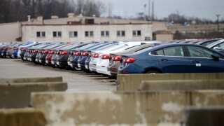 Salget af nyproducerede biler går trægt i USA.