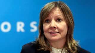 Mary Barra, der er administrerende direktør for General Motors, er blevet mødt med kritik fra den amerikansk præsident.