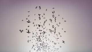 Der er ikke særlige ord eller bogstaver, der volder ordblinde problemer.