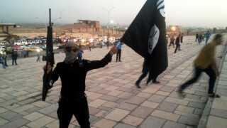 Selvom Islamisk Stat er blevet mindre end tidligere, er terrororganisationen fortsat til stede i Syrien.