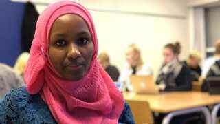 Ruwayda Abdisalan Hussein frygter, at hun og familien bliver sendt tilbage til Somalia.