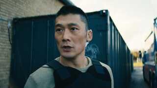 Skuespiller Thomas Hwan i rollen som politibetjenten Alf, der i 'Bedrag III' går fra en birolle til én af tre hovedroller, når man følger hans arbejde i Task Force Nørrebro.