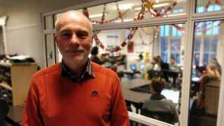 Jesper Bech Madsen er skoleleder på Kerteminde Byskole, der er en af de skoler med lavest fraværsprocent for elever i 7.-10. klasse.