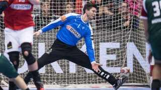 Niklas Landin var tilbage i målet for Danmark.