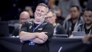 Det var massere at glæde sig over for landstræneren under sejren over Chile.