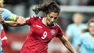 Nadia Nadim skiftede for nylig til Paris-Saint Germain fra Manchester City.