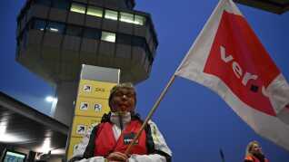 På mindre end 10 dage er tyske lufthavne blevet ramt af tre strejker.