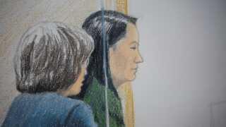 Huaweis finansdirektør, Meng Wanzhou, er i øjeblikket under overvågning i Vancouver indtil det første retsmøde, der forventes at finde sted 6. februar.