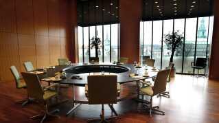 Danmarks Nationalbank, mødelokale.